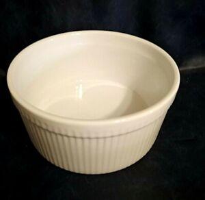 Faberware Round Classic Bakeware Souffle White Bake Dish