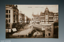 Ansichtskarte HAMBURG HOCHBAHN MIT ALTERWALL vermutlich um 1925