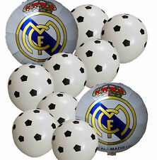 10 Soccer Ball Football Balloon Pack Real Madrid Soccer Event Party Supplies