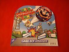 Mario Pinball Land Game Boy Advance Store Window / Wall Sticker Display Promo