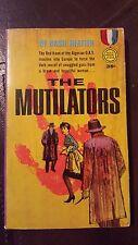"Basil Heatter, ""Mutilators,"" 1962,Gold Medal s1238, VG, 1st"
