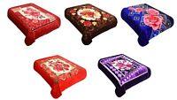New Blanket Floral Queen Size Plush Soft Mink at Linen Plus