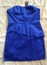 BNWT Ladies 'Hot Options'  UK/AUS sz14 blue sleeveless dress