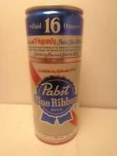 16 oz PABST BLUE RIBBON ALUMINUM PULL TAB BEER CAN #161-20