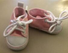 "PINK Tennis Shoes Sneakers w/ Laces For 18"" American Girl Doll - Madam Alexander"