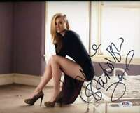 Yvonne Strahovski Psa Dna Coa Signed 8x10 Photo Autograph
