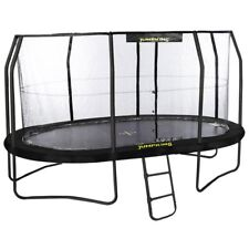 17ft x 14ft Jumpking OvalPOD Oval Trampoline with Enclosure (JPO1417G17)