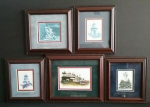 Collection of 5 Ben Richmond Signed Prints Christmas Eve Beacon of Peace Light