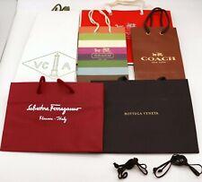COACH Ferragamo BOTTEGA VENETA VCA Empty Shopping Gift Paper Bag 6P Set-24