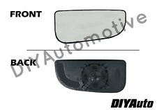 Dodge Ram Tow Mirror Glass RH Right Passenger Outer Convex 2010-2018 Fourth Gen
