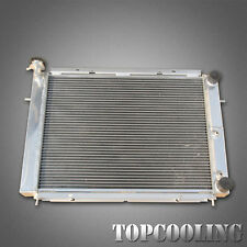 3 Row/Core Aluminum Radiator For Holden Commodore Calais VL RB30 6Cyl 86-88 AT