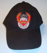 Harley Davidson Of Glendale Love Ride 19 Hat, Snapback Baseball Cap Black, 2002