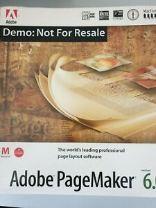Adobe PageMaker Software Version 6 ***Vintage Collectable***