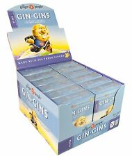 THE GINGER PEOPLE GIN GINS CARAMEL GINGER CHEWS 12x31g - GLUTEN FREE
