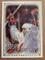 2008-09 Upper Deck Masterpieces #81 Mario Lemieux Team Canada Pittsburgh