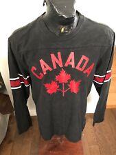MENS XLarge HBC Hockey Jersey Long Sleeve Shirt Team Canada Olympics 2012 #12