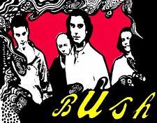 13160 Bush Cartoon Group Rock Grunge Gavin Rossdale Music Band Sticker / Decal