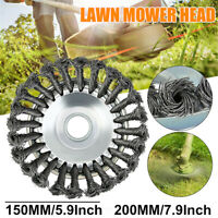6/8'' Steel Wire Trimmer Head Grass Brush Cutter Dust Removal Tray for Lawnmower