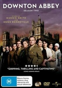 DOWNTON ABBEY - COMPLETE SEASON TWO / 2 - BRAND NEW & SEALED DVD