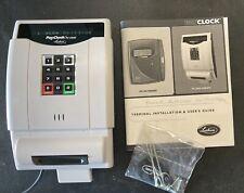 Used Lathem Pay Clock Time Clock Pc2000 Pc 2000 Free Shipping