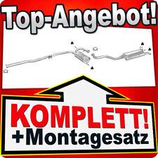 Auspuff RENAULT 19 R19 1.7 1.9 D Schrägheck ohne KAT Auspuffanlage 439