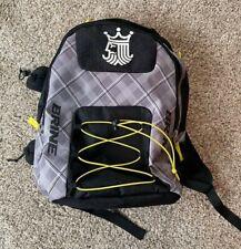 Brine Lacrosse Back Pack/Backpack - Black and Grey