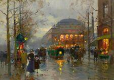 Theatre du Chatelet :  Edouard Cortes  : Circa 1882 : Fine Art Print