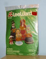VTG 1978 LEEWARDS FELT KIT CHRISTMAS CAROLLERS #15-49070 UNUSED ORIGINAL PACKAGE