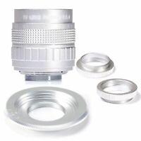 Fujian 50mm F1.4 CCTV Movie Lens+C Mount to Micro 4/3 m4/3 EPL5 EPM3 EPL7