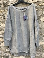 Joules Grey Cashmere Sparkly Jumpers - Size 18 - NWTS - RRP £59.95