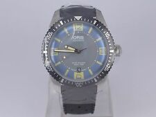 New Swiss Oris Heritage Sixty Five Tu-tone dial SS auto date diver watch in box