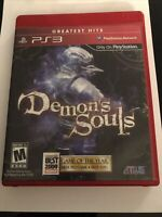 Demon's Souls (Greatest Hits, Sony PlayStation 3, PS3) CIB Complete Tested