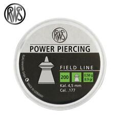 RWS Power Piercing .Air Gun Pellet .177/4.50mm Qty 200 Free P & P