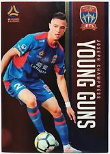 2017/18 FFA A-League Trading Cards - Joseph Champness (Young Guns YG-16)