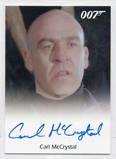 CARL McCRYSTAL as Trukhin / James Bond Archives Final Edition Autograph Card