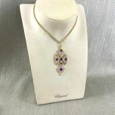 Crystal Gold Plated Vintage Costume Necklaces