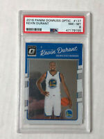 KEVIN DURANT 2016-17 Donruss Optic NICE BASE #137! PSA NM-MT 8! CHECK MY ITEMS!
