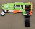 Nerf Zombie Strike Ripchain Dart Gun with Chain *WORKS*