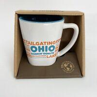 Dunkin Donuts Ohio Destinations Coffee Mug Cup 2017 Ceramic OH State DD NIB
