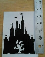 Disney Castle Oswald Decal - Black