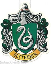 "Harry Potter Slytherin School Crest Sticker Decal Vinyl Official Merch 4.25""x5"""
