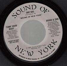 HEAR! Modern Soul Boogie Drum Machine 45 BRAIN & ZAN Jump Your Body on Sound Of