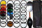 52MM 28Pcs lens Filter Kit 4 NIKON D3100 D3000 D5000 D60 d5100 d40 d40xD3200
