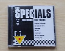 THE SPECIALS - TOO MUCH TOO YOUNG - CD SIGILLATO (SEALED)