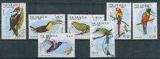 Nicaragua Briefmarken 1981 Vögel Mi 2217 bis 2223