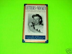 MICKEY MANTLE BOOK COLLECTIBLE BASEBALL NEW YORK YANKEES