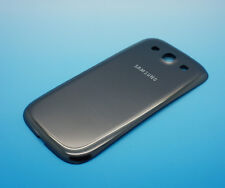 Samsung Galaxy S3 GT-I9300 Akku-Deckel Grau Gray Backcover Batterie Neu