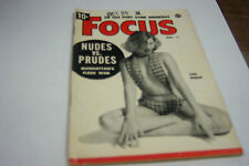 Focus Cheesecake Magazine November 1953 Lois Bishop  072812EL