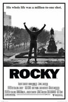 ROCKY - MILLION TO ONE SHOT MOVIE POSTER - 24x36 STALLONE BOXING 40116