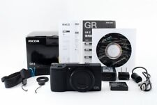 RICOH GR II 16.2MP Digital Camera count 2390 shot w/Box Exc From Japan Tested